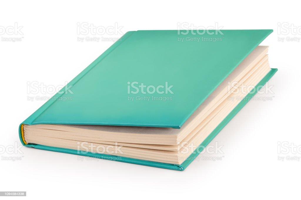 leere Hardcover-Buch - Clipping-Pfad – Foto