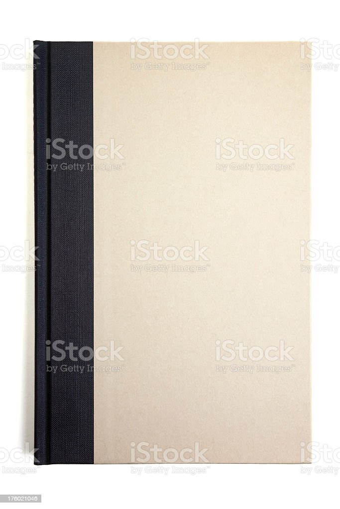 Blank hardcover book. royalty-free stock photo