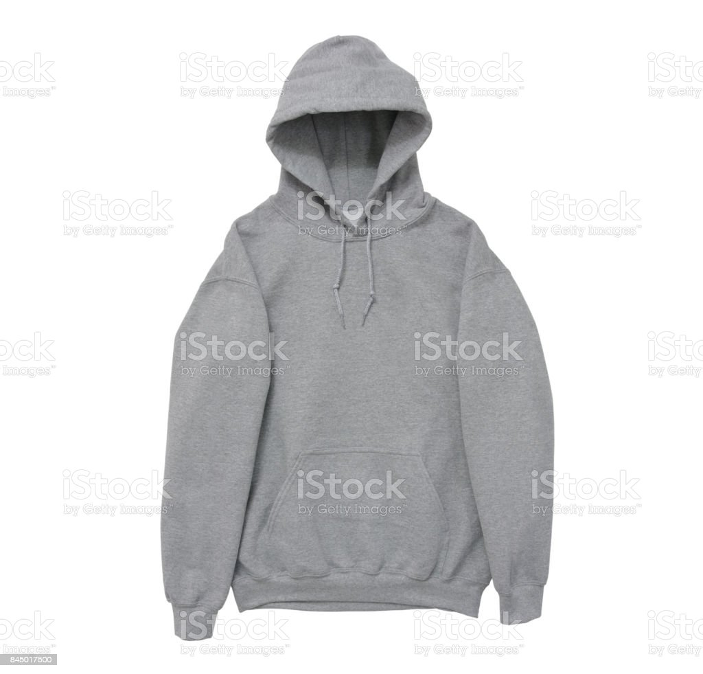 a5c04f3a9579b vue de bras avant blanc hoodie Sweat-shirt couleur gris photo libre de  droits
