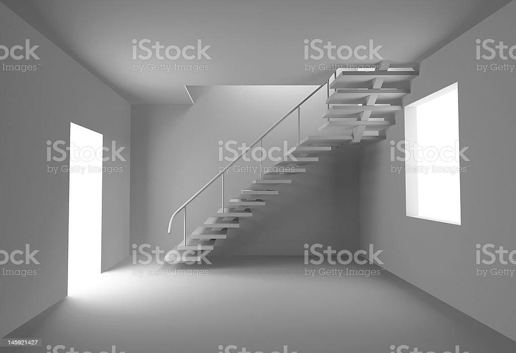 blank interior royalty-free stock photo