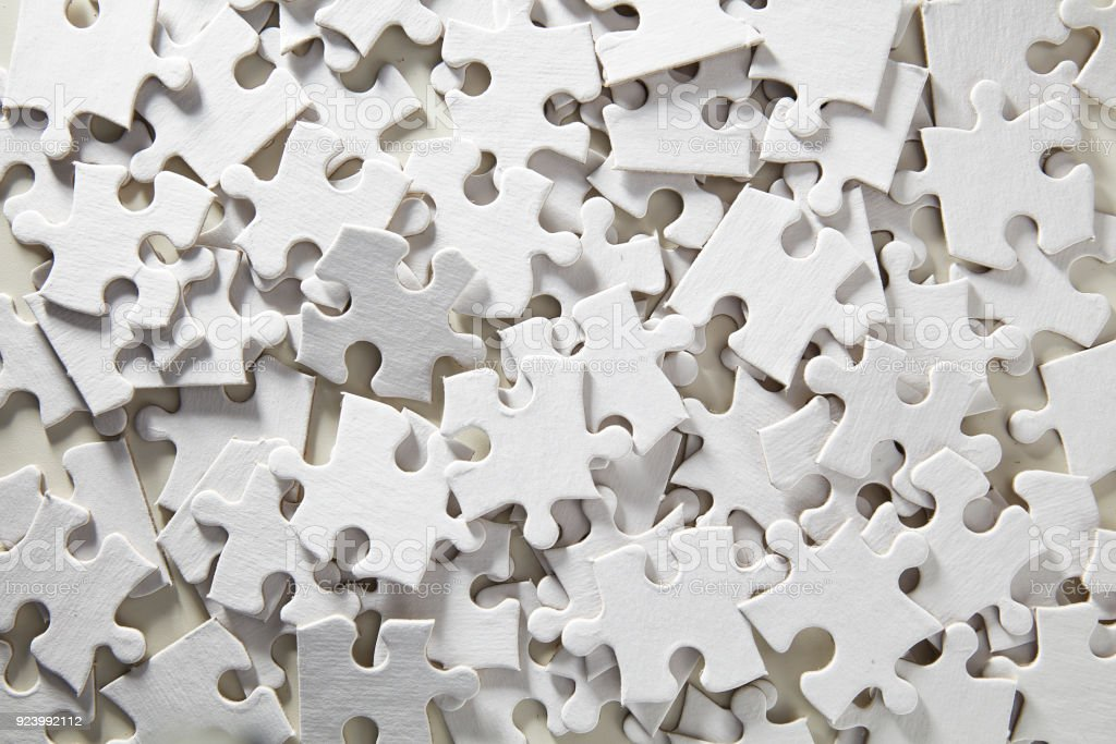Blank Jigsaw Puzzle random stock photo