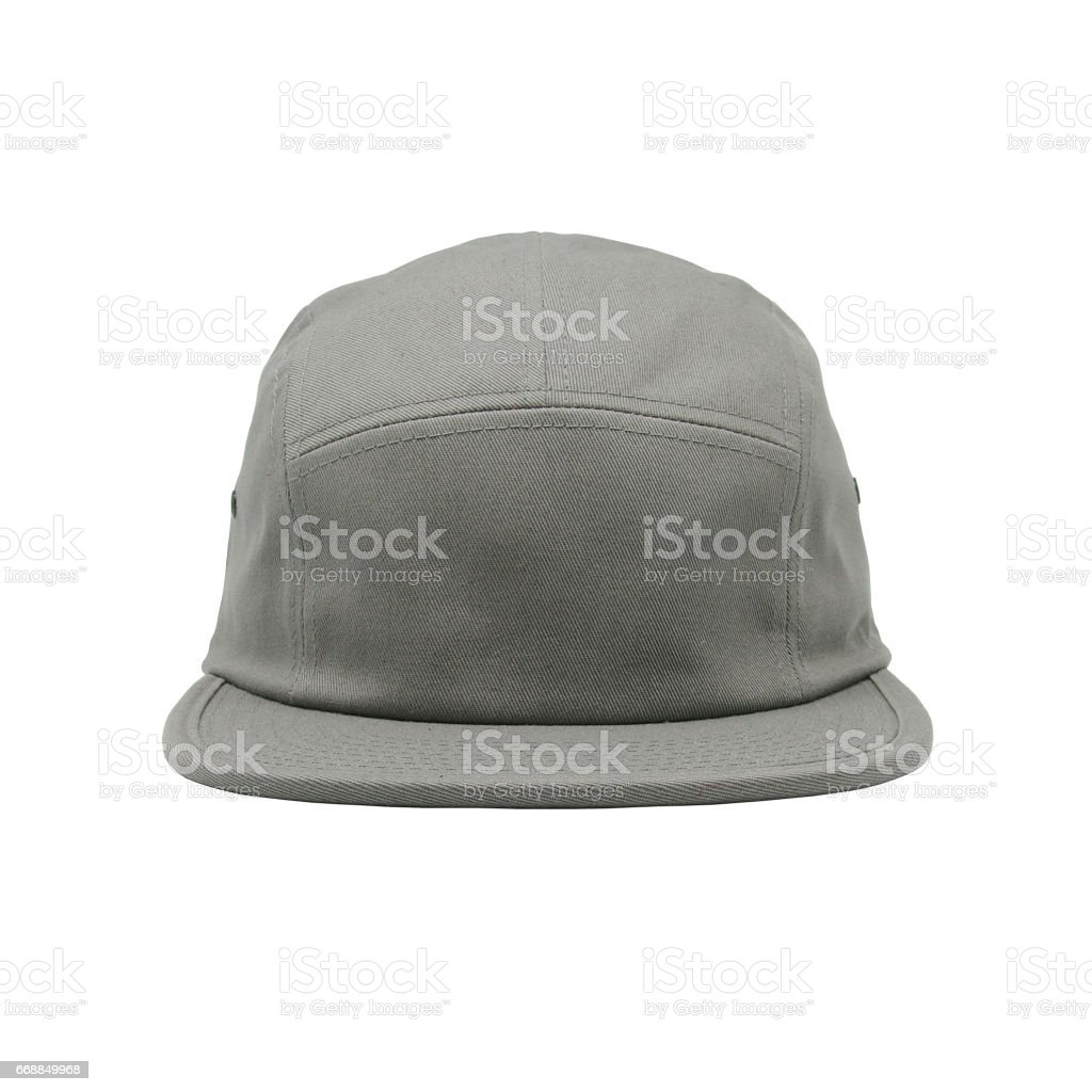 Blank Jockey Camper Cap Stock Photo & More Pictures of Arts