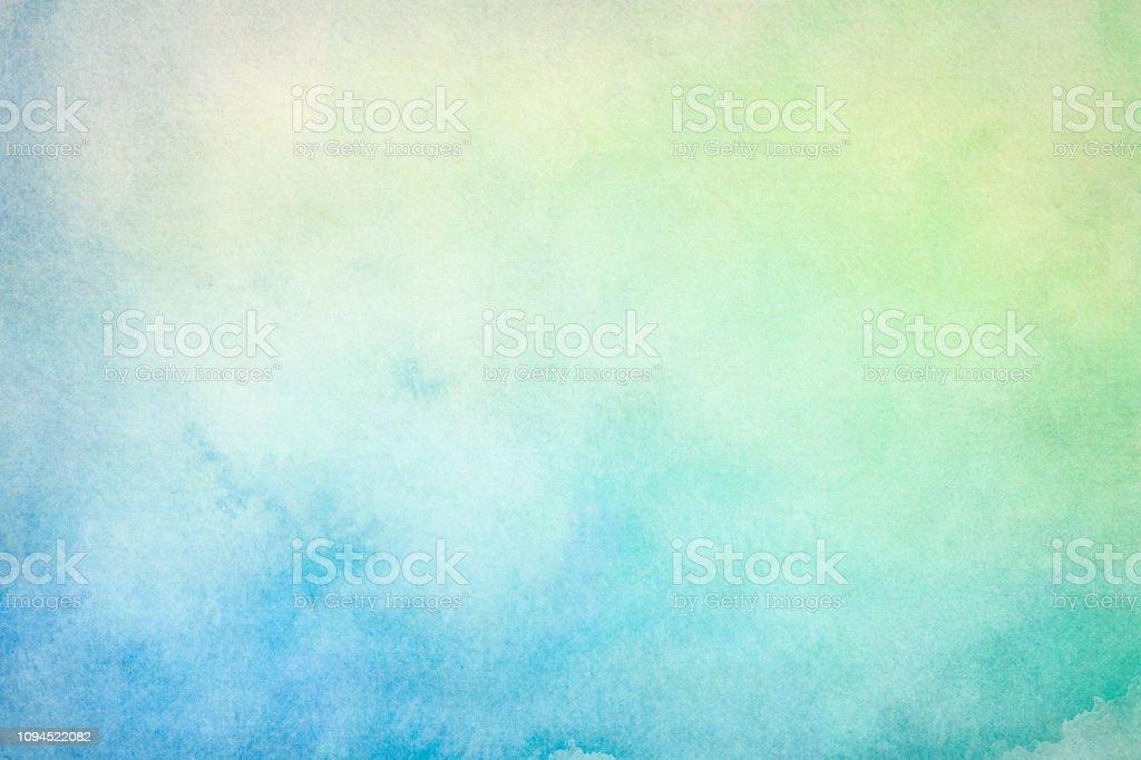 Blank light watercolor background - Zbiór zdjęć royalty-free (Abstrakcja)