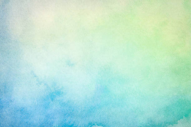 blank light watercolor background - green color stock pictures, royalty-free photos & images