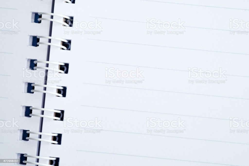 Blank Line Paper Notebook Background Education And Business ...