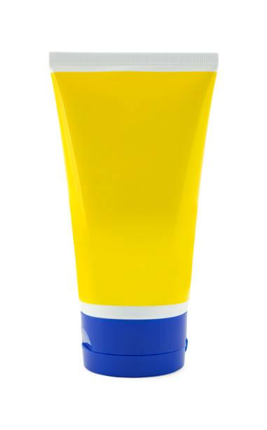tubo do frasco de loção em branco - squeeze bottle - fotografias e filmes do acervo