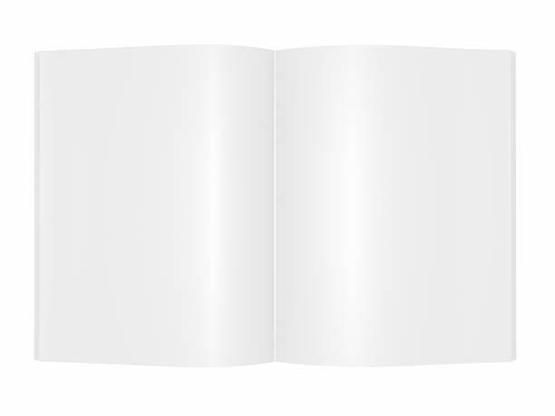 blank Magazine book Brochure stock photo