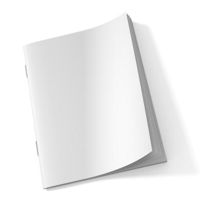 Blank Magazine book