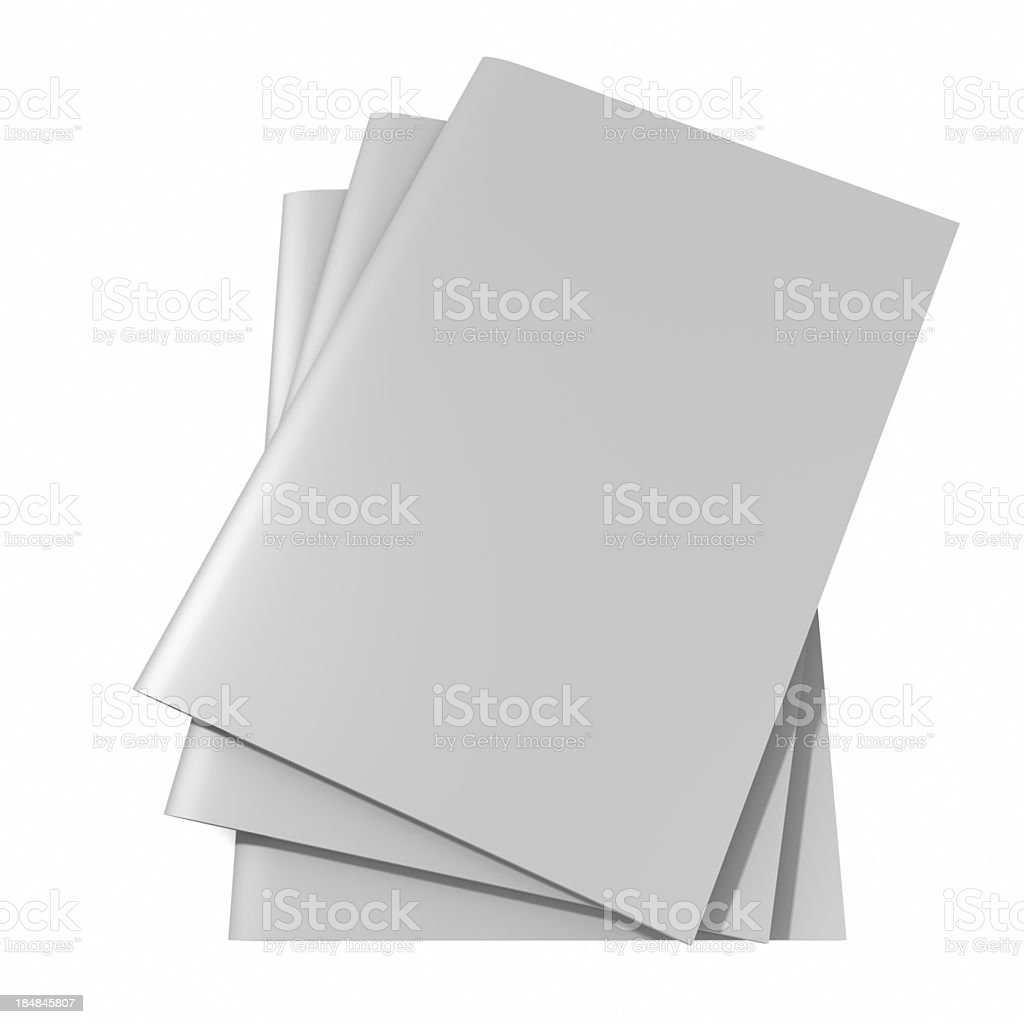 blank Magazine royalty-free stock photo