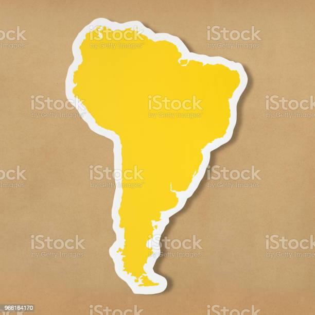 Blank Karta Över Sydamerika-foton och fler bilder på Ansvar