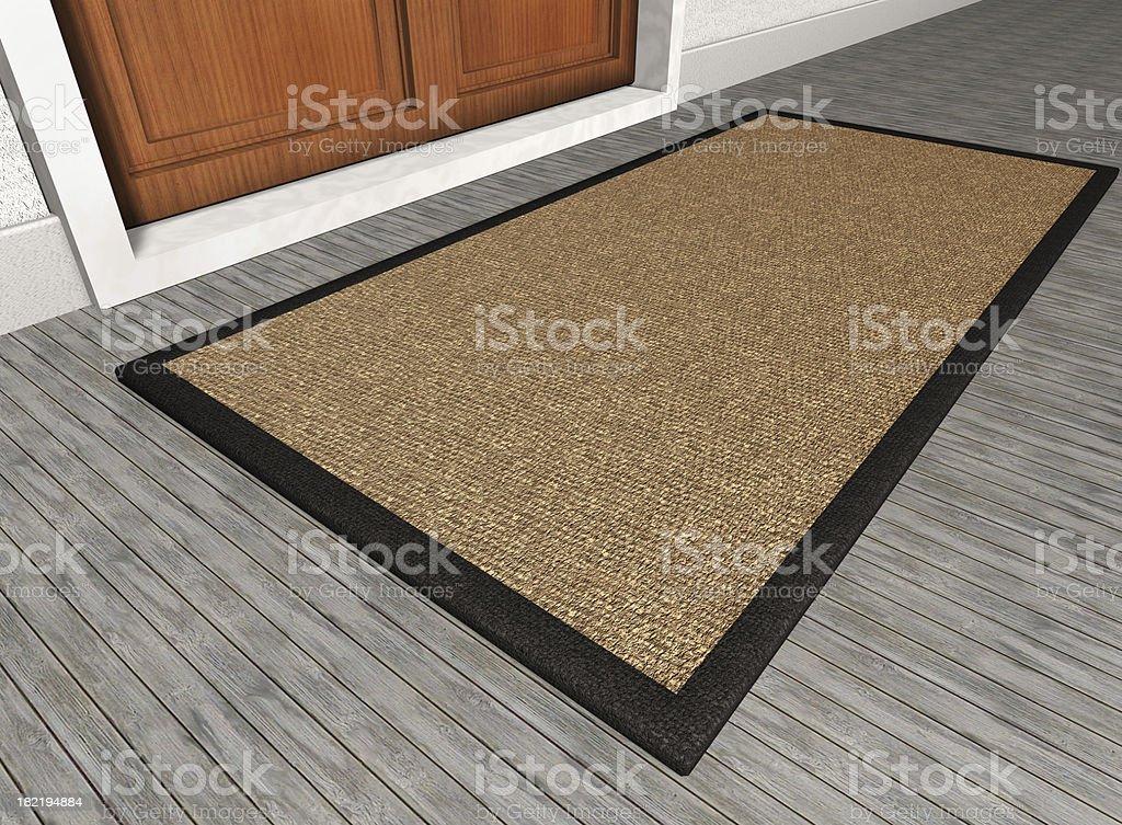 Blank Mat stock photo