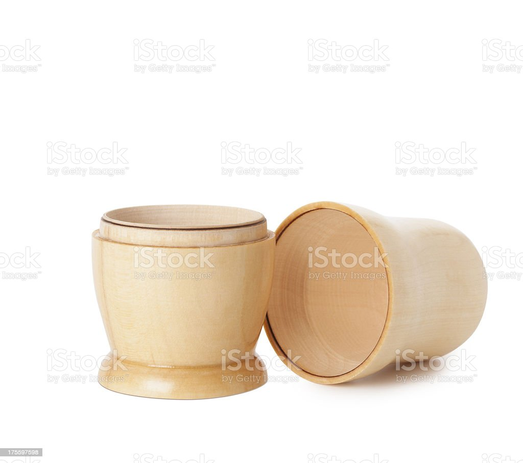 Blank Matryoshka dolls stock photo