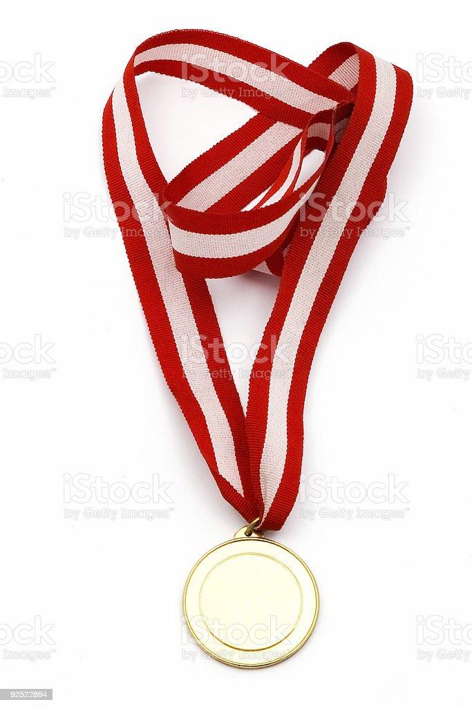 Blank Medallion royalty-free stock photo