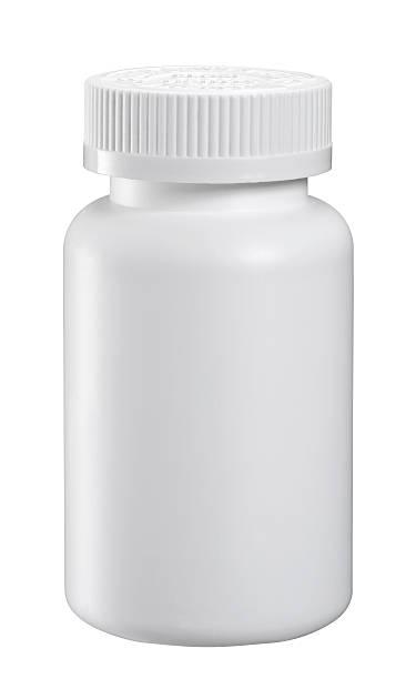 em branco garrafas de medicina - garrafa - fotografias e filmes do acervo