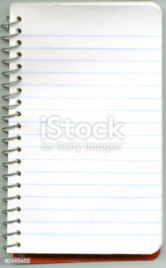Blank Memo Pad Stock Photo  More Pictures Of Blank  Istock