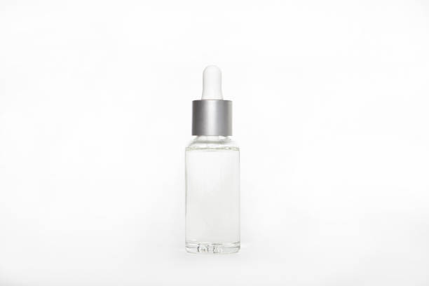 blank mock up advertising with copy space of the dropper bottle isolated on the white background (flacon with pipette) blank mock up advertising with copy space of the dropper bottle isolated on the white background (flacon with pipette) tincture stock pictures, royalty-free photos & images