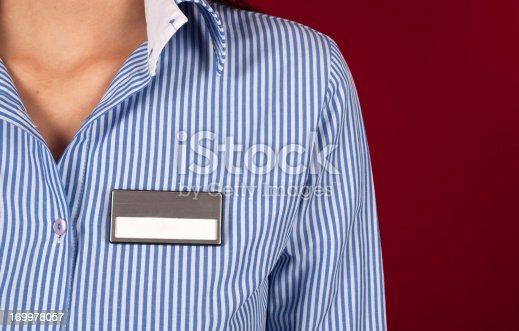 Name Tag on ShirtName Tag on Shirt