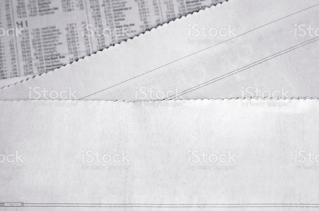 Blank News Headline royalty-free stock photo