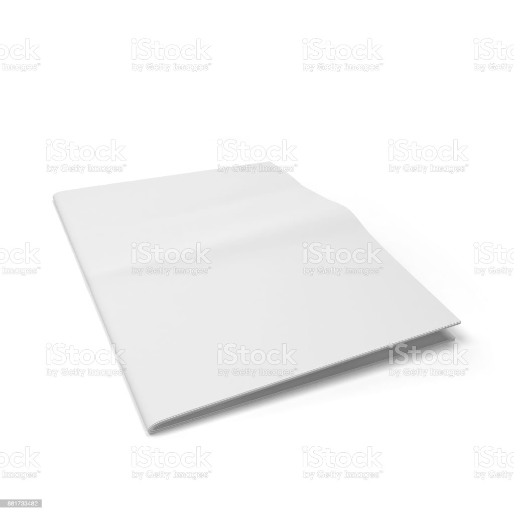Blank Newspaper Template Stock Photo More Pictures Of Article Istock