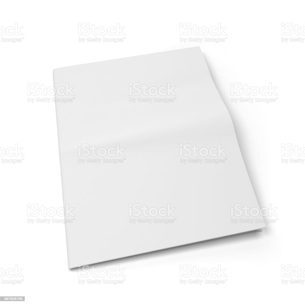 Blank Newspaper Template Stock Photo More Pictures Of Article