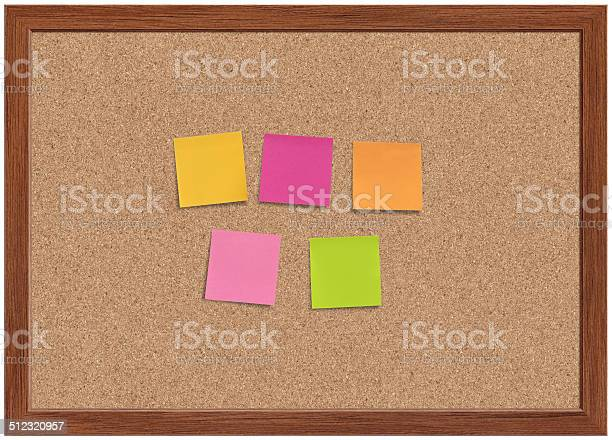 Blank Note Papers Stock Photo - Download Image Now