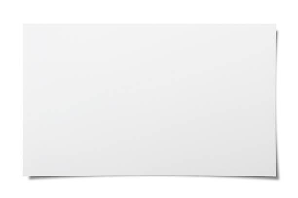 пустая примечание - письмо документ стоковые фото и изображения