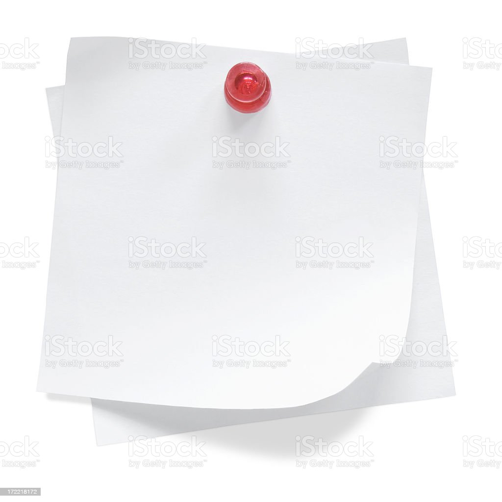 Blank Note / Post-It / To-do list royalty-free stock photo