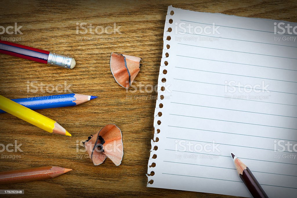 Blank Note / To-do list royalty-free stock photo