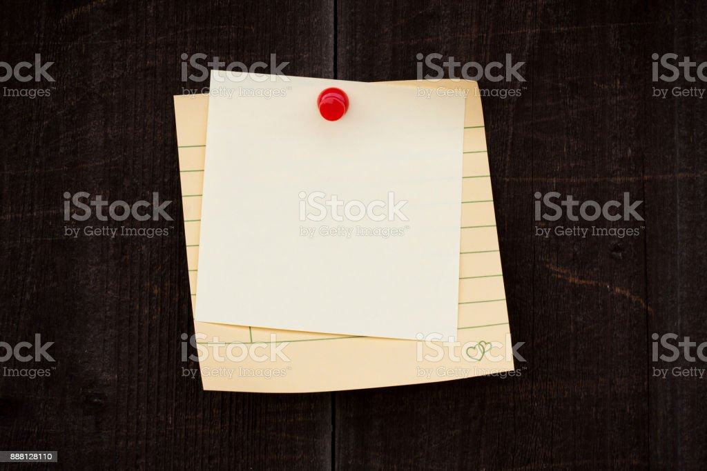 Blank Notebook page paper background textured stock photo