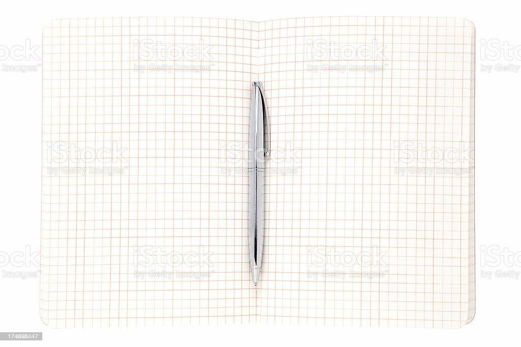 blank notebook royalty-free stock photo