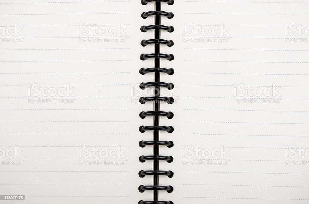 Blank notepad royalty-free stock photo