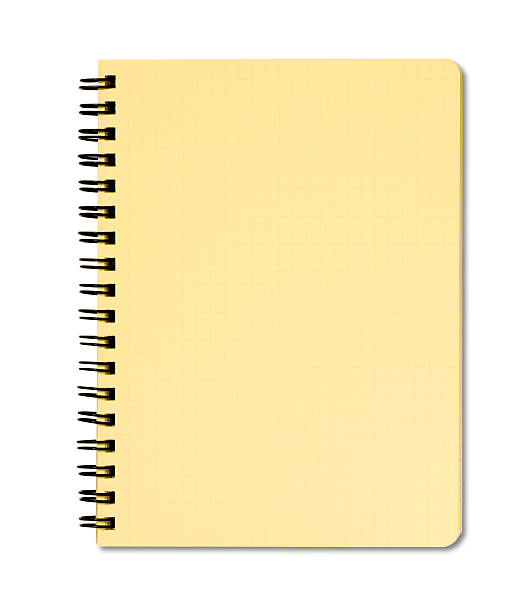 Blank notepad Blank notebook on white. workbook stock pictures, royalty-free photos & images