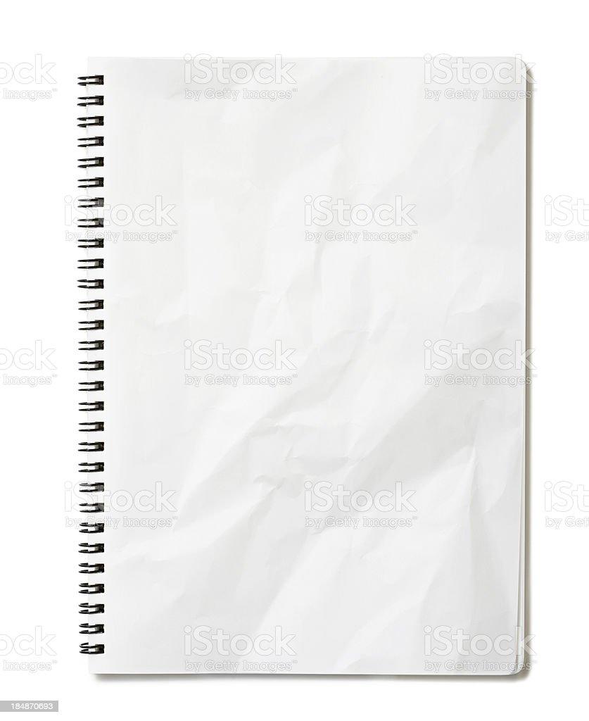 Blank notepad royalty-free stock photo