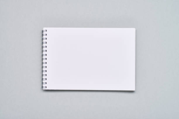 blank notepad - spiral stock pictures, royalty-free photos & images