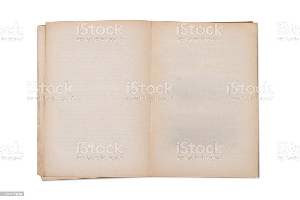 blank old book template stock photo more pictures of blank istock