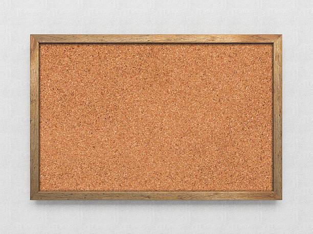 Blank old corkboard – Foto