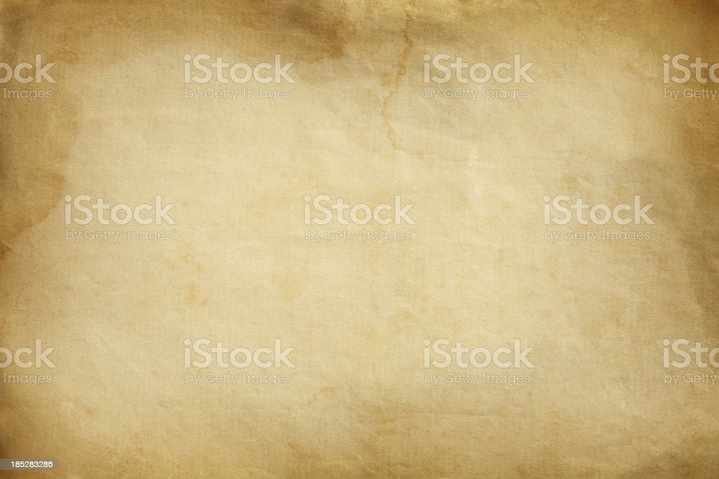 Blank old paper texture background royalty-free stock photo