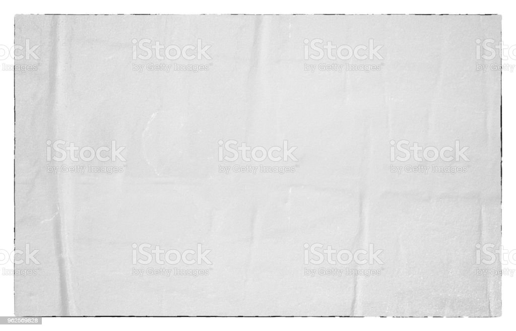 Blank old ripped torn paper crumpled creased posters grunge textures backdrop backgrounds stock photo