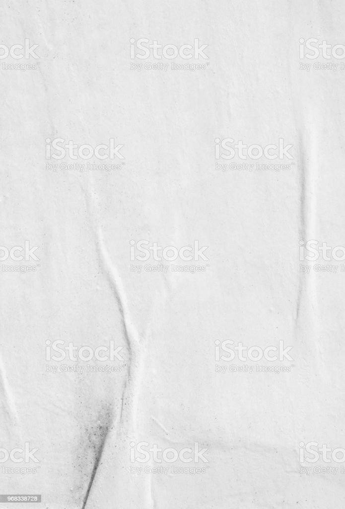 Blank old ripped torn paper crumpled creased posters grunge textures backdrop background stock photo