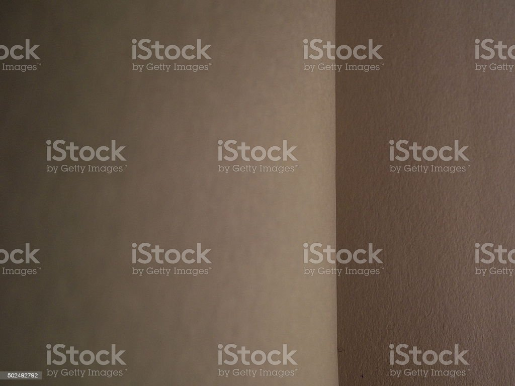 Blank Open Book Pages From Above stock photo