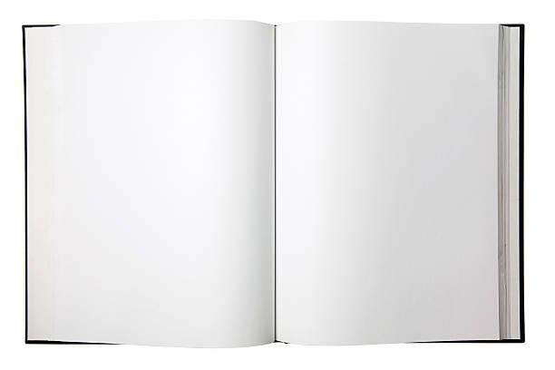pusty otwartej książki - open book zdjęcia i obrazy z banku zdjęć
