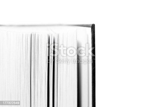 istock Blank Open Book 177322549