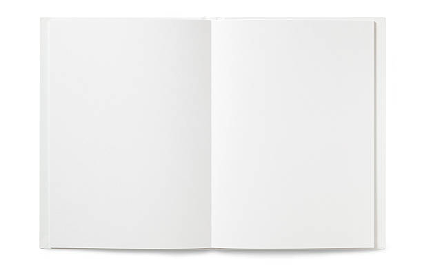 Blank open Book Blank open Book  isolated on white workbook stock pictures, royalty-free photos & images