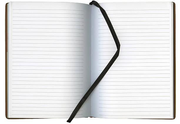 XXL Blank Open Book stock photo
