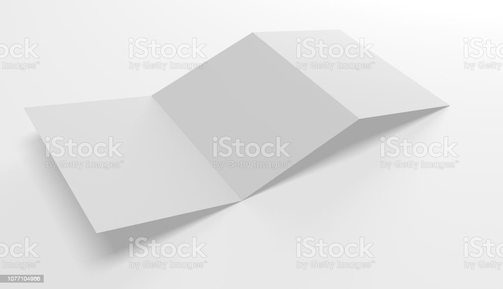 Plantilla en blanco abrir carpeta foto de stock libre de derechos