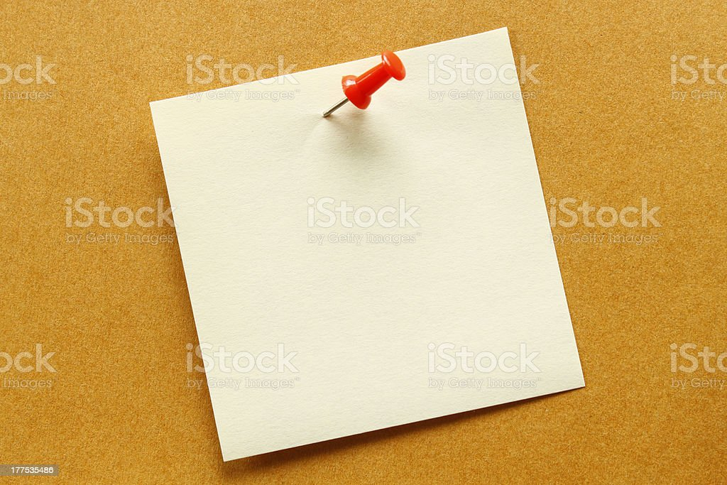 Blank orange. stock photo