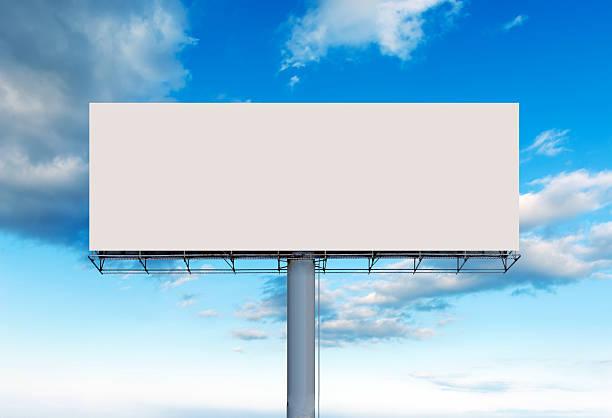 odkryty billboard puste - pustka zdjęcia i obrazy z banku zdjęć