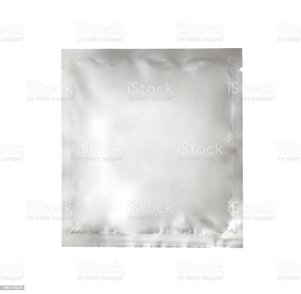Blank packaging for food or cosmetic royalty-free stock photo