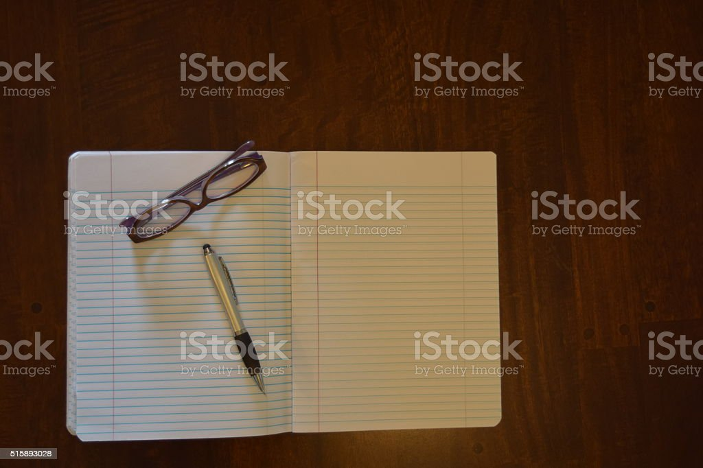 Blank Page2 stock photo