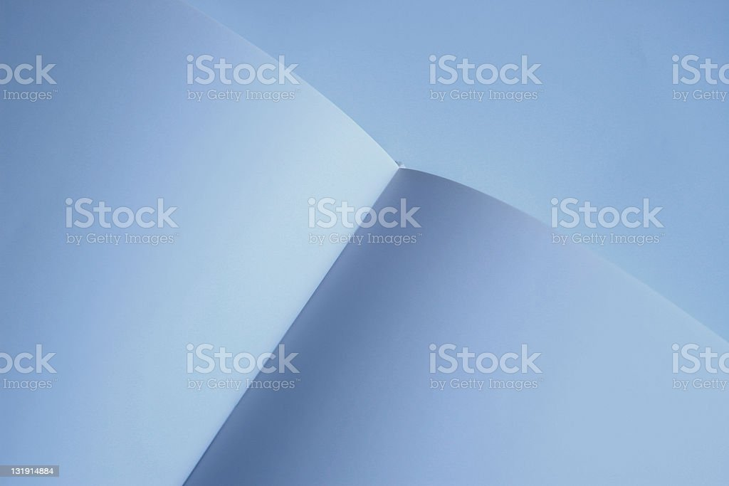 Blank pages in open book royalty-free stock photo